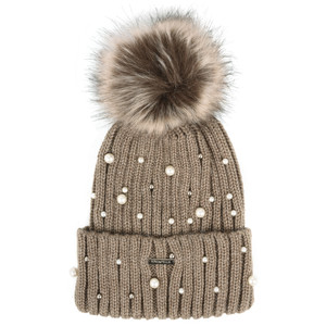 RINO AND PELLE Bobble Hats with Pearls