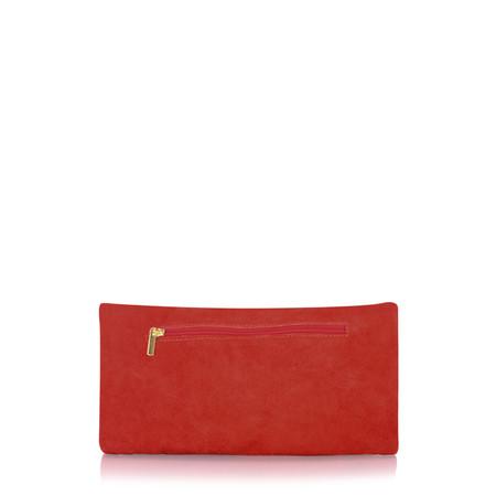 Gemini Label  Silvi Clutch Bag - Red