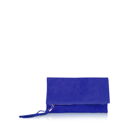Gemini Label  Silvi Clutch Bag - Blue