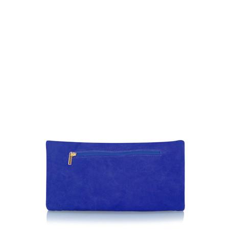 Gemini Label  Silvi Clutch Bag - Blue