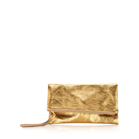 Gemini Label  Silvi Clutch Bag - Bronze