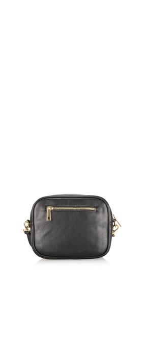 Gemini Label Bags Pinkie Leather Animal Print Bag Zebra