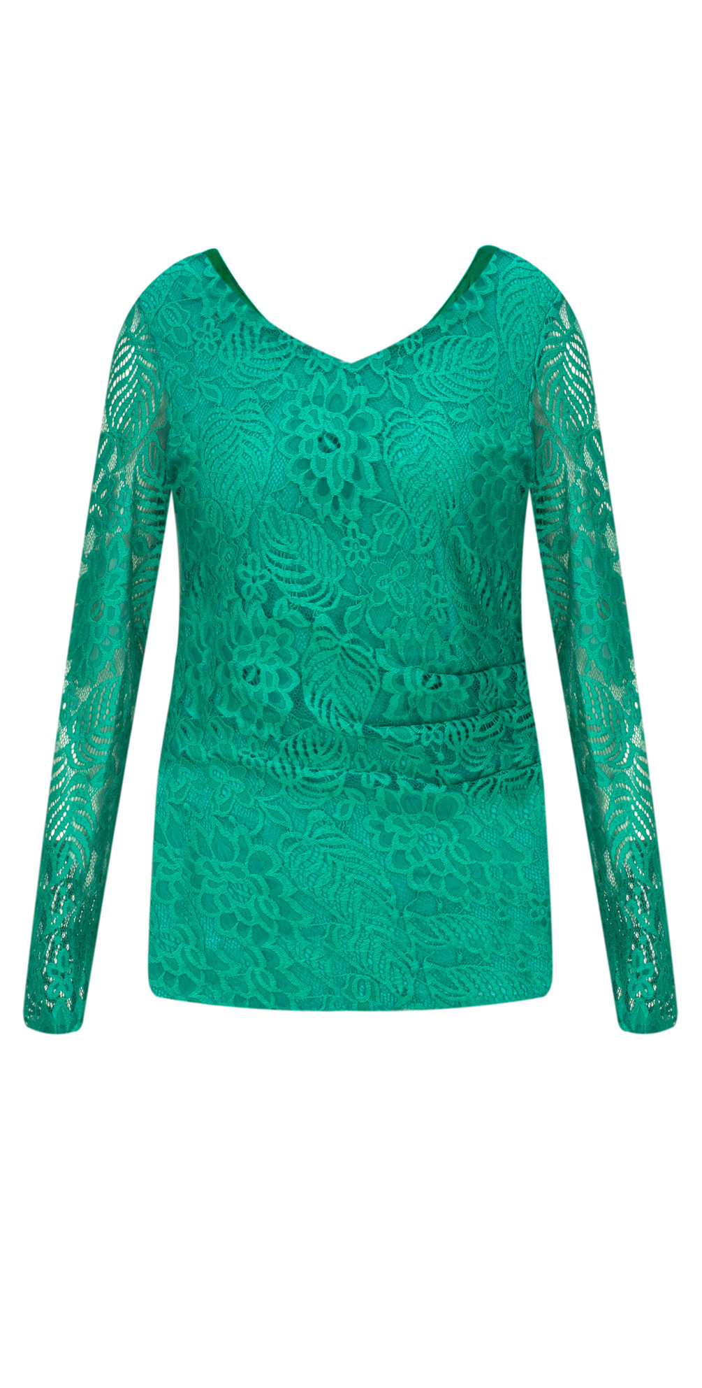 Fitted Lace Top main image