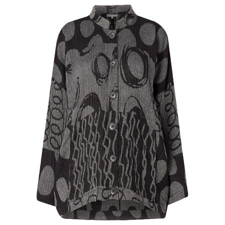 Sahara Abstract Jacquard Jacket - Grey