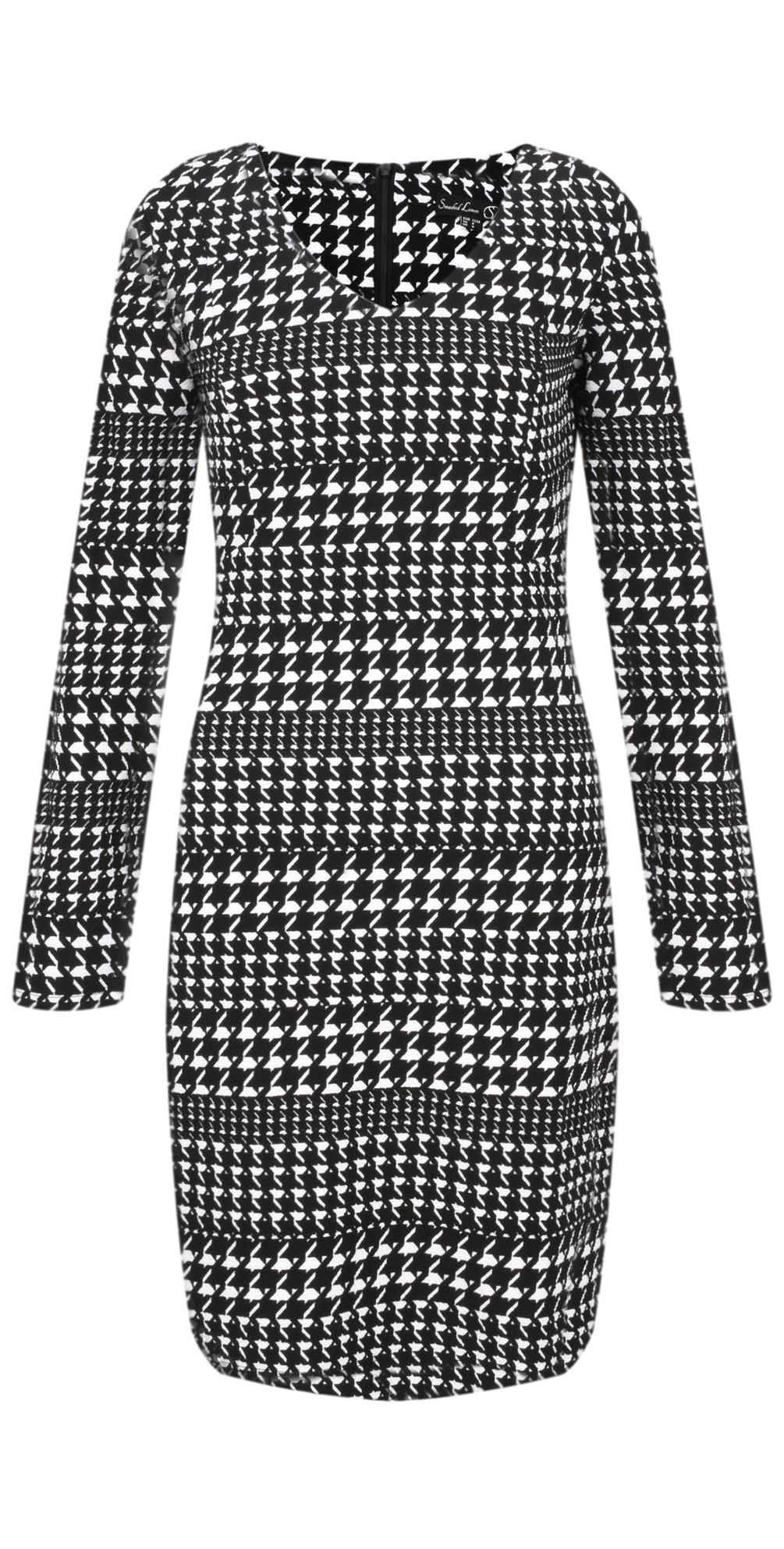 Herringbone Check Dress main image