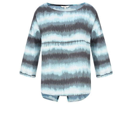 Sandwich Clothing Tie Dye Top - Blue