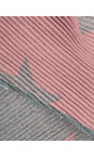 Gemini Label Accessories Pink Revo Stars Reversible Scarf