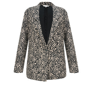 Sandwich Clothing French Terry Cheetah Blazer