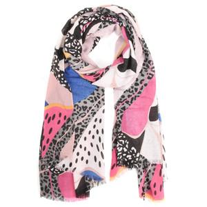 Butterfly Hudie Hatti Hot Leopard Scarf