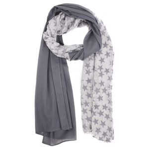 V.Fraas Velvet Stars Cotton Scarf