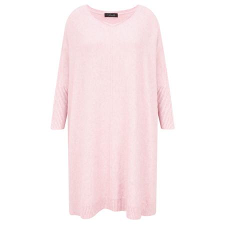 Fenella  Reva Oversized Supersoft Knit - Pink