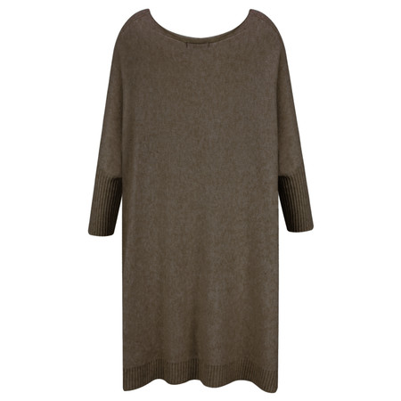 Fenella  Reva Oversized Supersoft Knit - Brown