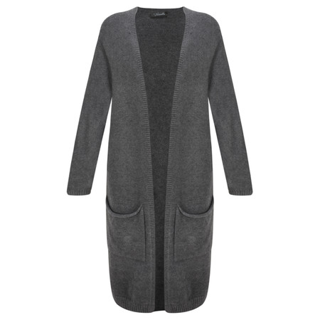 Fenella  Carrie Easyfit Supersoft Long Cardi - Black