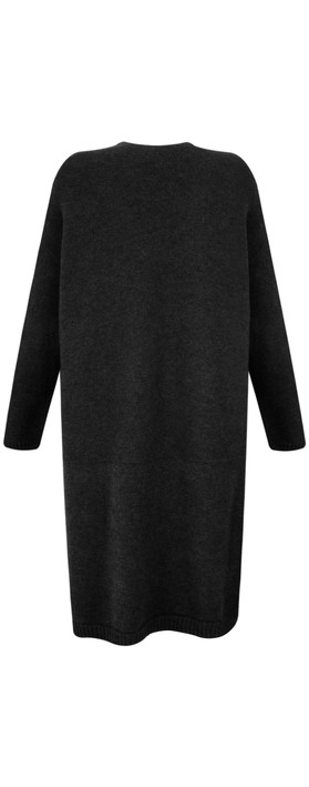 Fenella  Carrie Easyfit Supersoft Long Cardi Black
