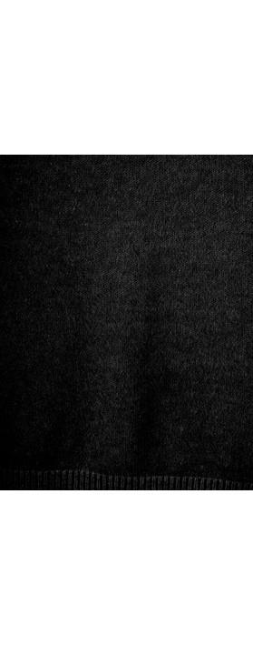 Fenella  Emmie EasyFit V-neck Knit Jumper Black