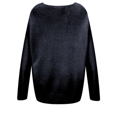 Fenella  Emmie EasyFit V-neck Knit Jumper - Blue