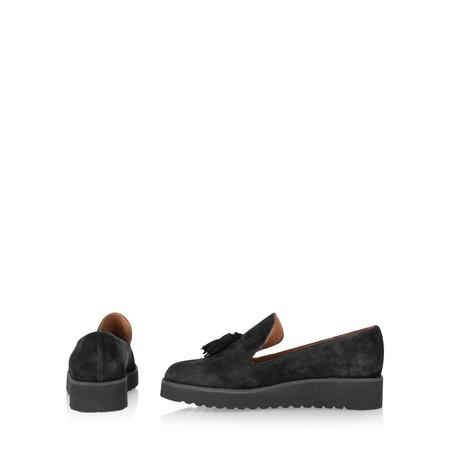 Gemini By Carmen Saiz Monica Tassel Modern Loafer - Black