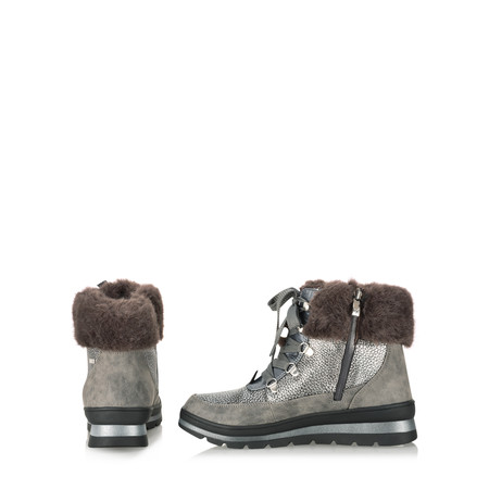 Caprice Footwear Nixie Nordic Ankle Boot - Grey