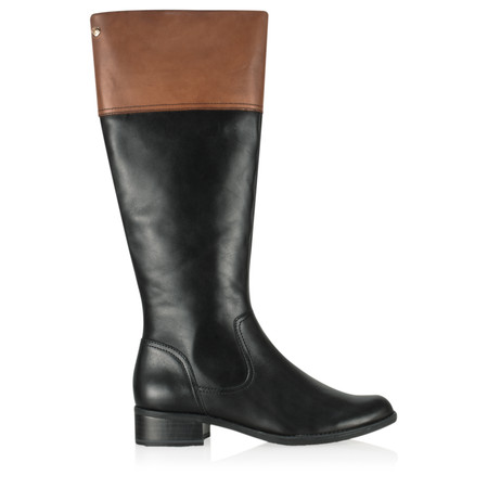 Caprice Footwear Luete Long Boot - Black