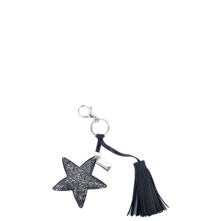 Eliza Gracious Tia Crystal Star Tassle Bag Charm - Blue
