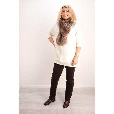 Fenella  Reva Oversized Supersoft Knit - Off-White