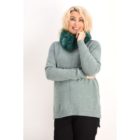 Fenella  Marty Easyfit Supersoft Knit Jumper - Green