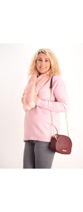 Fenella  Marty Easyfit Supersoft Knit Jumper Rose