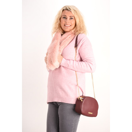 Fenella  Marty Easyfit Supersoft Knit Jumper - Pink