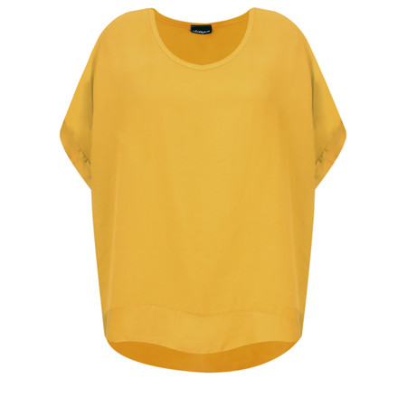 Aisling Dreams Lisel Satin Edge Top - Yellow