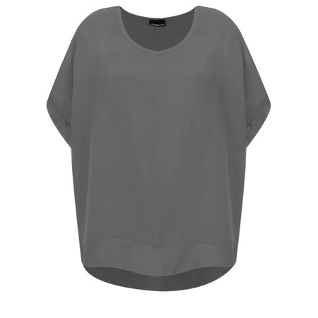 Aisling Dreams Lisel Satin Edge Top - Grey