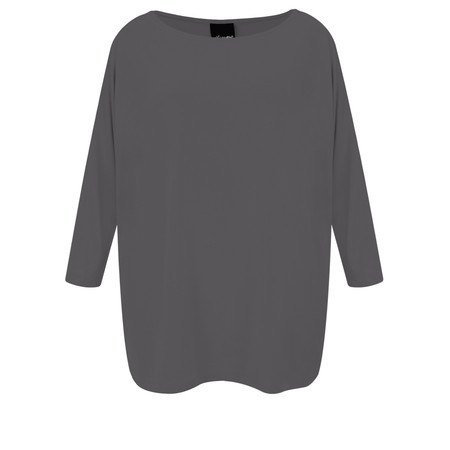 Aisling Dreams Sacha Soft Jersey Relaxed Top - Grey