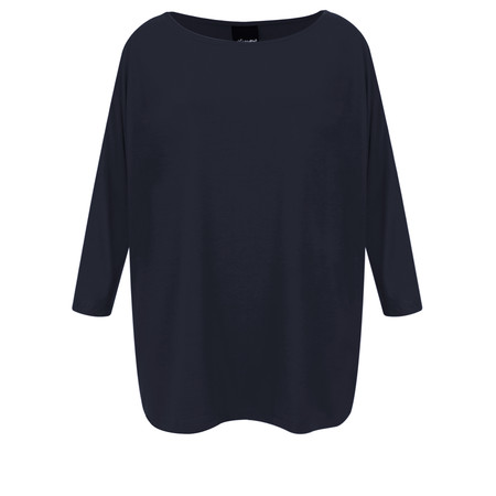 Aisling Dreams Sacha Soft Jersey Relaxed Top - Blue