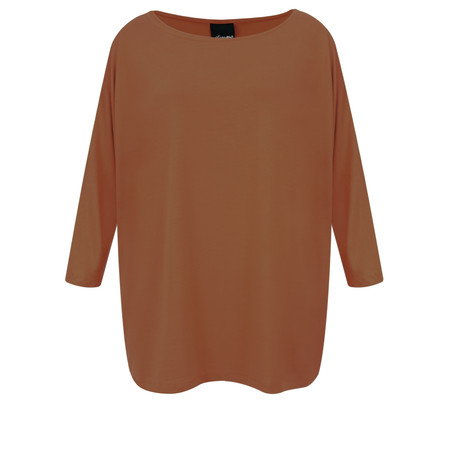 Aisling Dreams Sacha Soft Jersey Relaxed Top - Red
