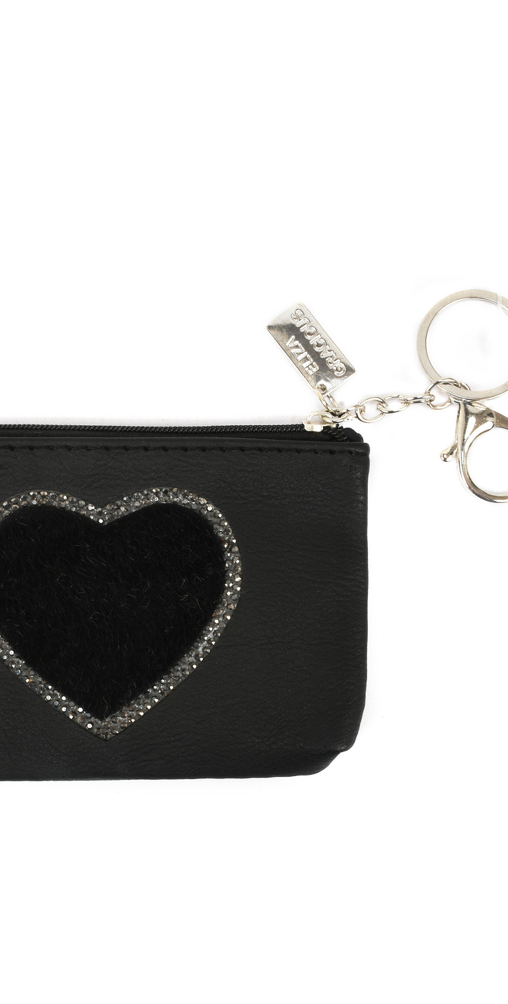 Heart Crystal Embellished Purse main image