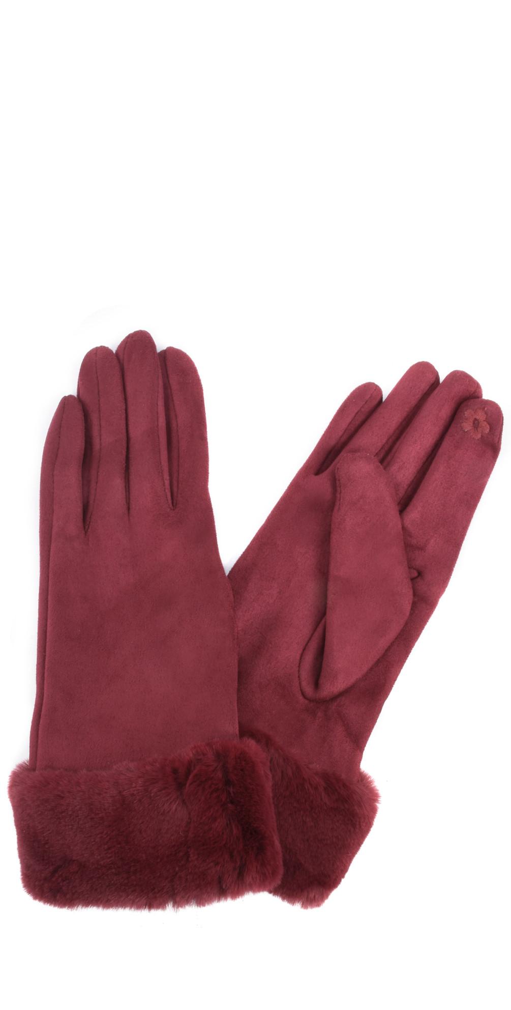 Nala Fur Trim Gloves main image