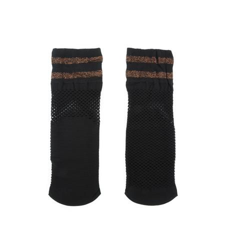 BeckSondergaard Clarette Fishnet Sock - Black