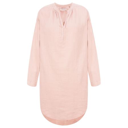 Noa Noa Long Sleeve Cotton Tunic - Pink