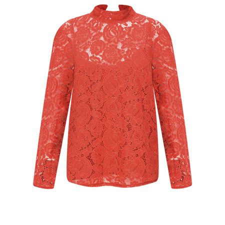 Great Plains Joni Lace Top - Orange