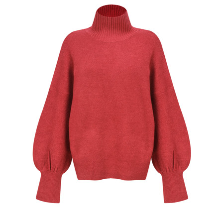 French Connection Orla Flossy Jumper - Pink