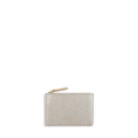 Katie Loxton Alexa Metallic card holder - Beige