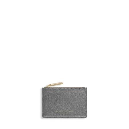 Katie Loxton Alexa Metallic card holder - Black
