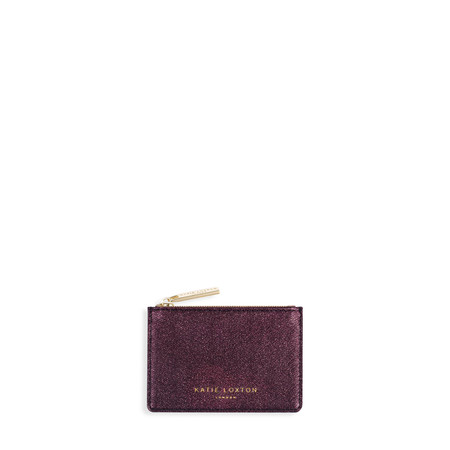 Katie Loxton Alexa Metallic card holder - Red