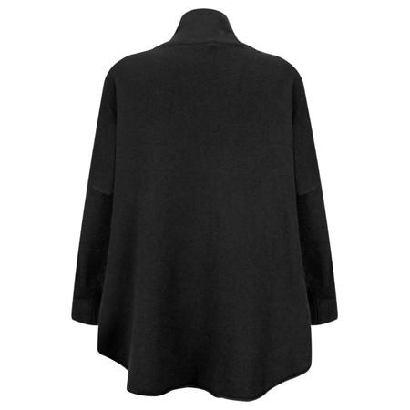 Amazing Woman Vera Oversized Knit Jumper - Black