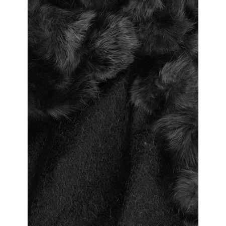 Gemini Label  Grace Pom Shawl - Black