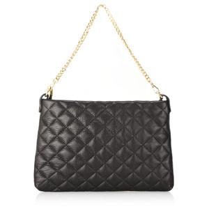 Gemini Label  Pavia Quilted Leather Shoulder Bag