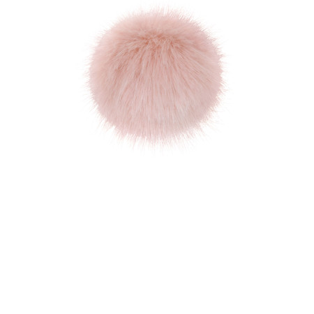 Helen Moore Faux Fur Single Pom Pom - Pink