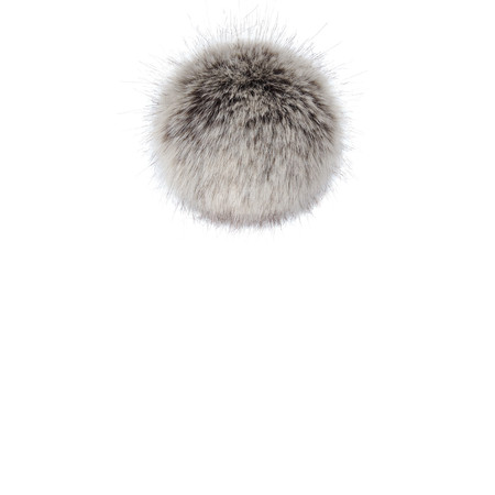 Helen Moore Faux Fur Single Pom Pom - Brown