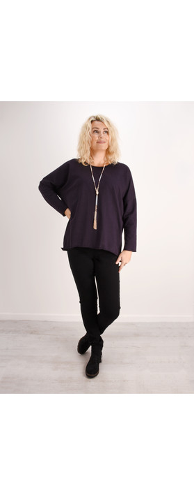 Aisling Dreams Sigge Slub Jersey Relaxed Top Rust