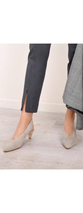 Gemini Label  Dache Suede Shoe Kalima Stone
