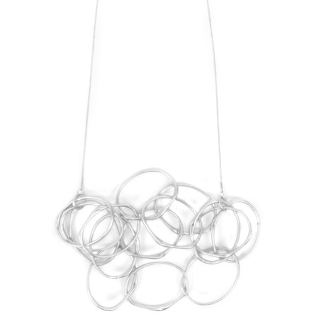 Dansk Smykkekunst Eve Sculpted Multi Necklace - Metallic